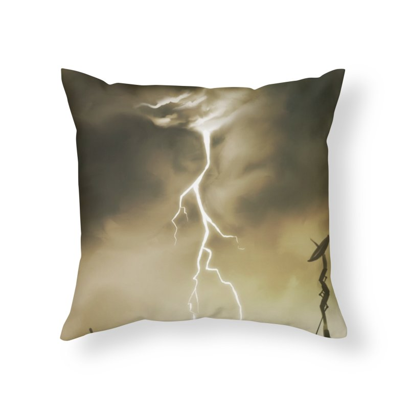 Lightning Weapon Home Throw Pillow by @franzeboy Artist Shop