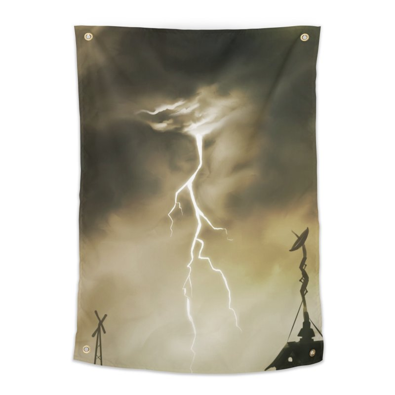 Lightning Weapon Home Tapestry by @franzeboy Artist Shop