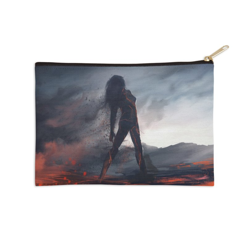 Rise from the Ashes Accessories Zip Pouch by @franzeboy Artist Shop