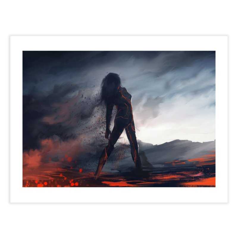 Rise from the Ashes Home Fine Art Print by @franzeboy Artist Shop