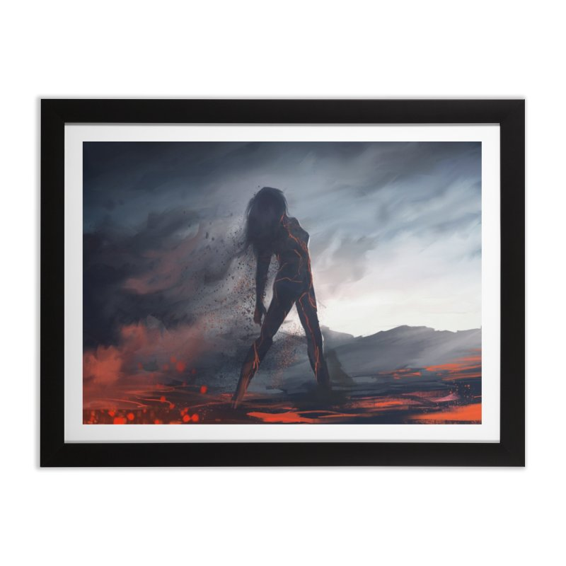 Rise from the Ashes Home Framed Fine Art Print by @franzeboy Artist Shop