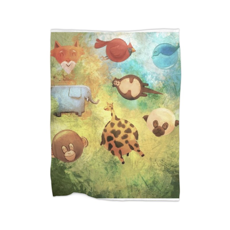 Balloon Animals Home Blanket by @franzeboy Artist Shop