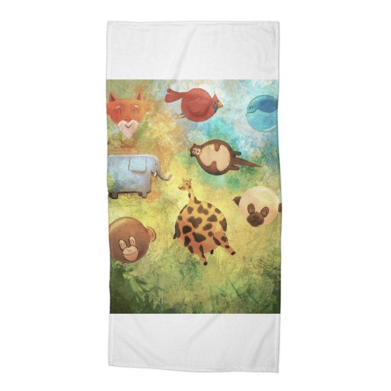 Balloon Animals Accessories Beach Towel by @franzeboy Artist Shop