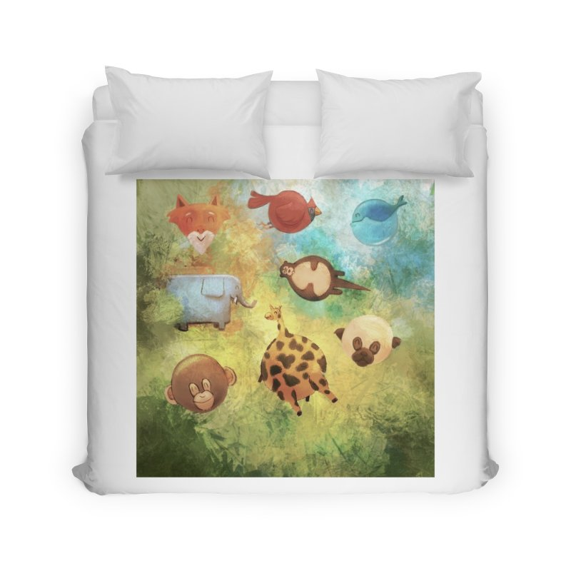 Balloon Animals Home Duvet by @franzeboy Artist Shop