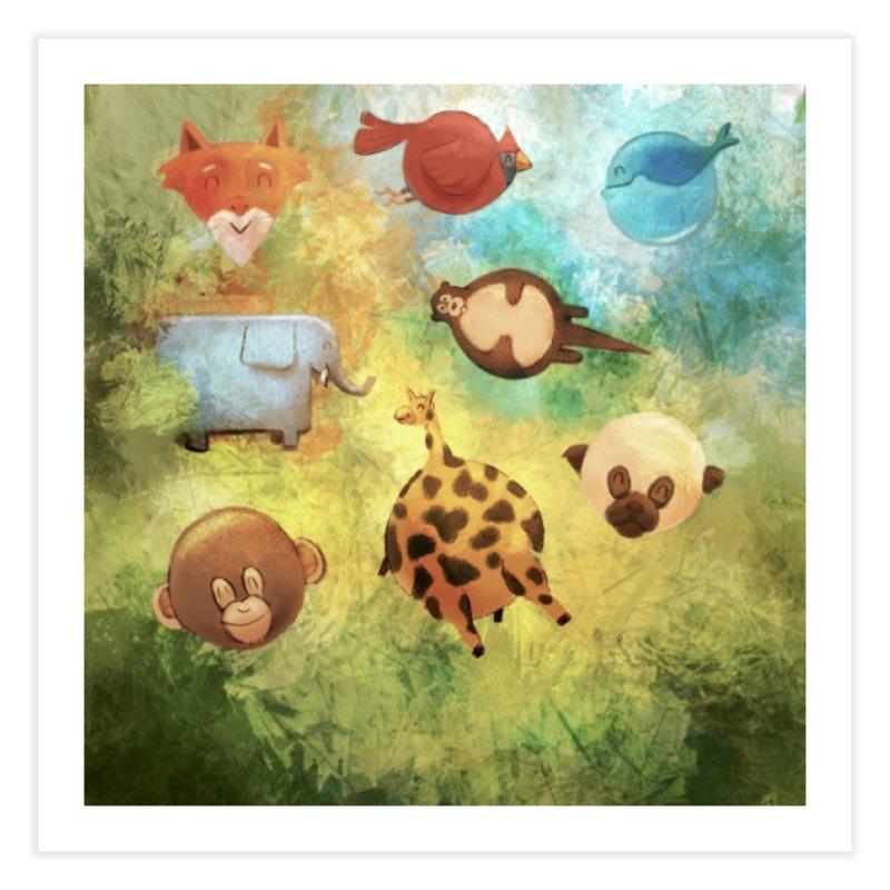Balloon Animals Home Fine Art Print by @franzeboy Artist Shop