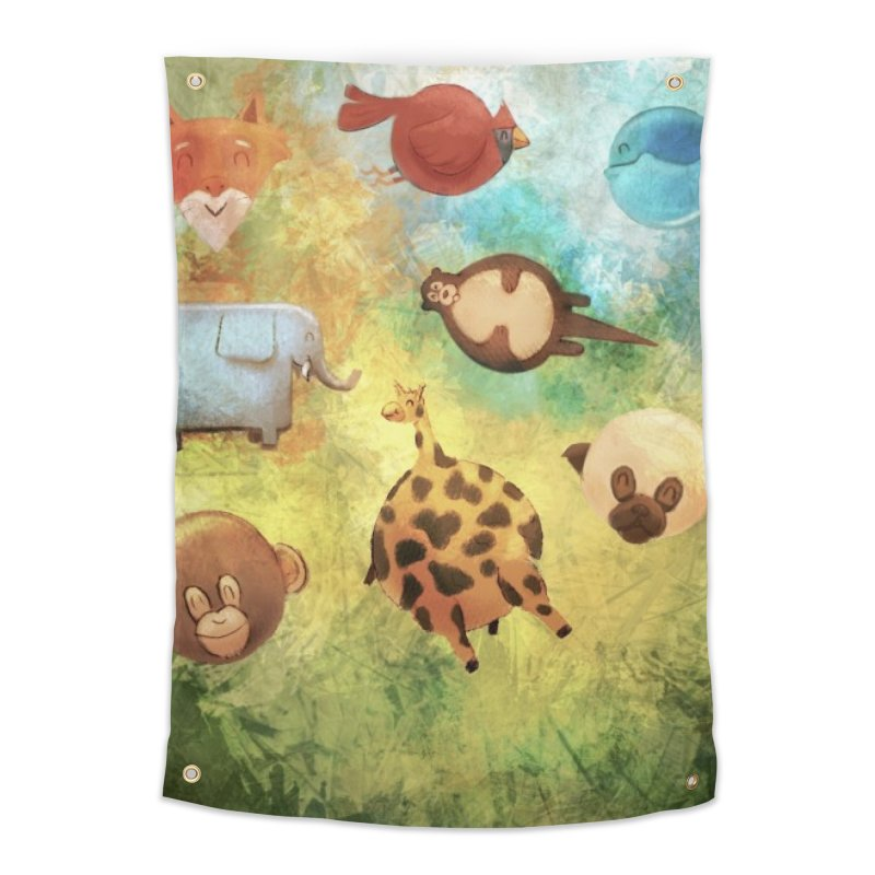 Balloon Animals Home Tapestry by @franzeboy Artist Shop