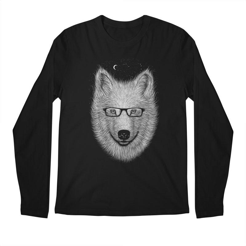 SPECTAC WOLF Men's Longsleeve T-Shirt by franzsyd's Artist Shop