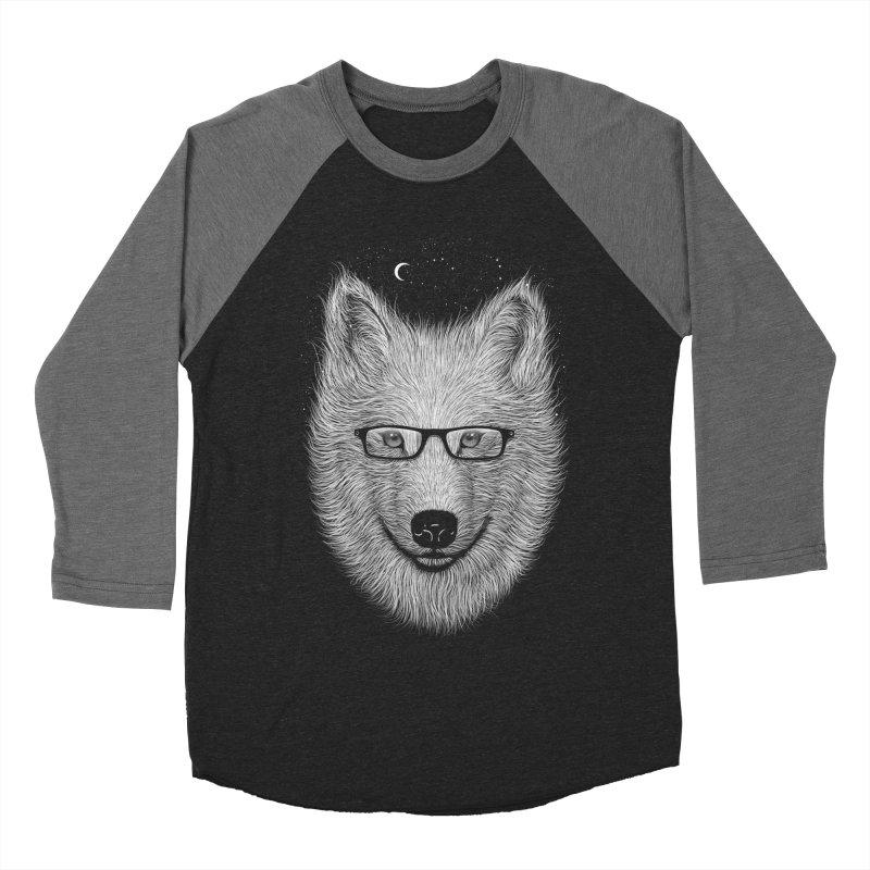 SPECTAC WOLF Men's Baseball Triblend T-Shirt by franzsyd's Artist Shop