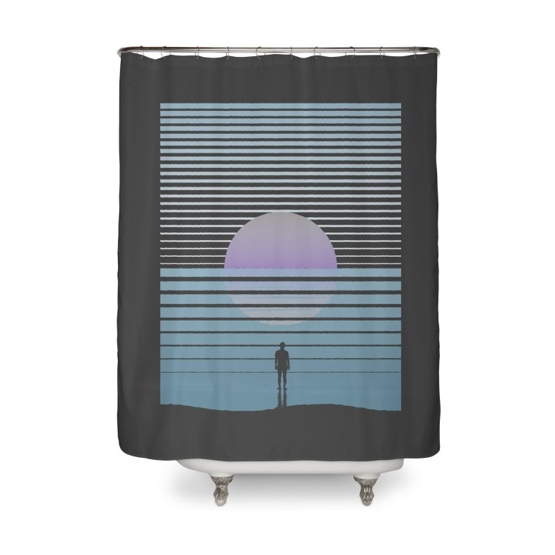 Infinite Home Shower Curtain by Frasq
