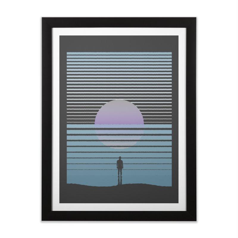 Infinite Home Framed Fine Art Print by Frasq