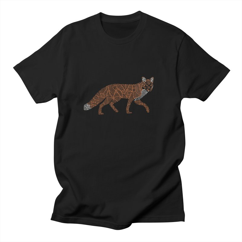 Fox Men's T-Shirt by Frasq