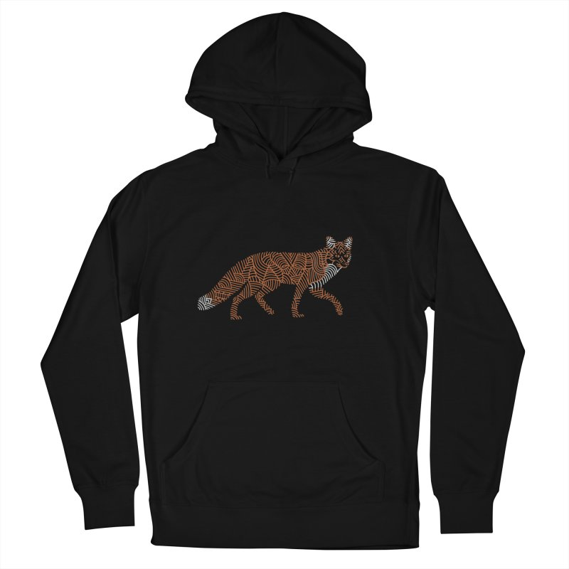 Fox Women's Pullover Hoody by Frasq