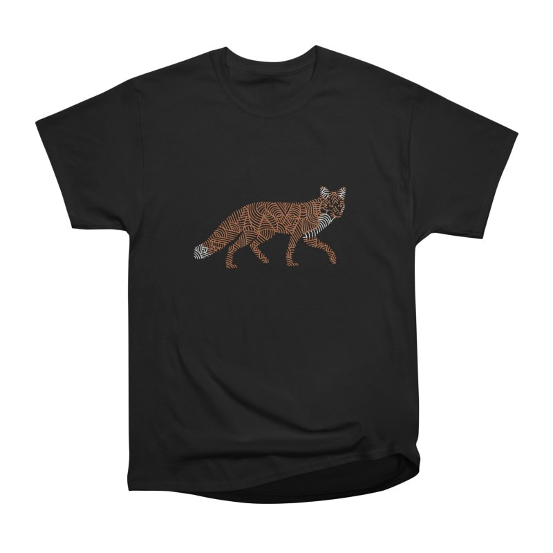 Fox Men's Heavyweight T-Shirt by Frasq