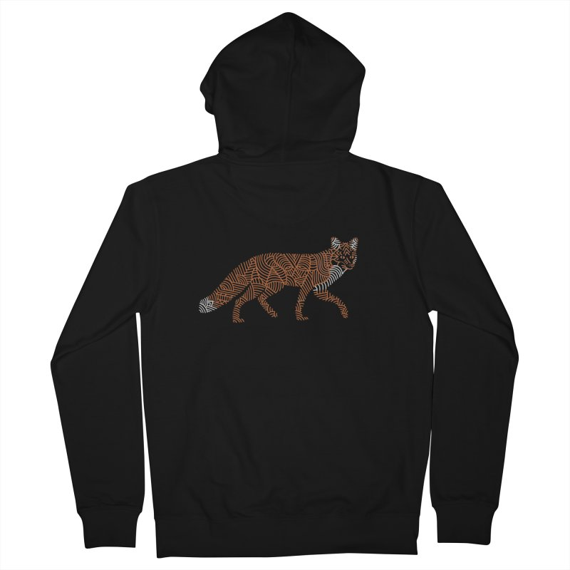 Fox Women's Zip-Up Hoody by Frasq