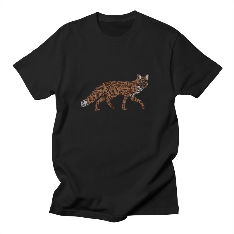 Fox Men's T-Shirt by Frasq