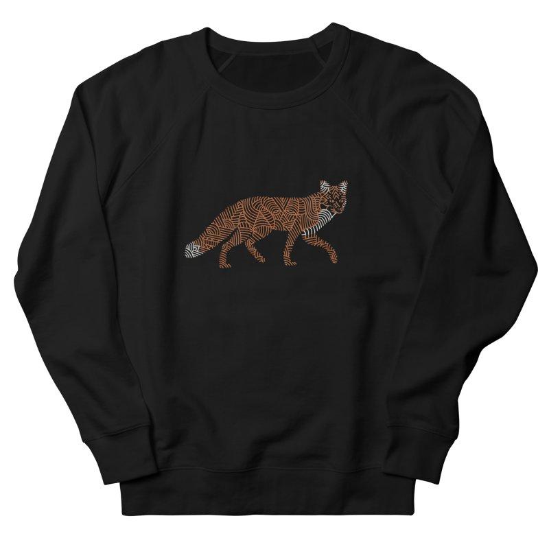 Fox Men's Sweatshirt by Frasq