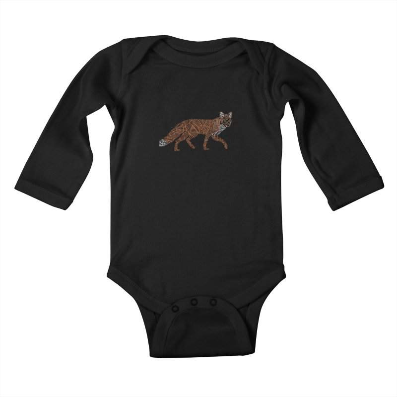 Fox Kids Baby Longsleeve Bodysuit by Frasq