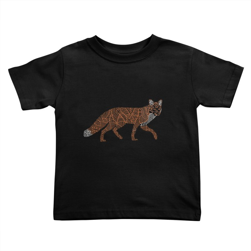 Fox Kids Toddler T-Shirt by Frasq