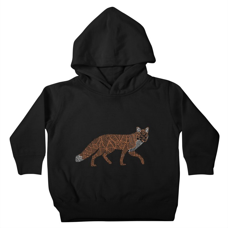 Fox Kids Toddler Pullover Hoody by Frasq