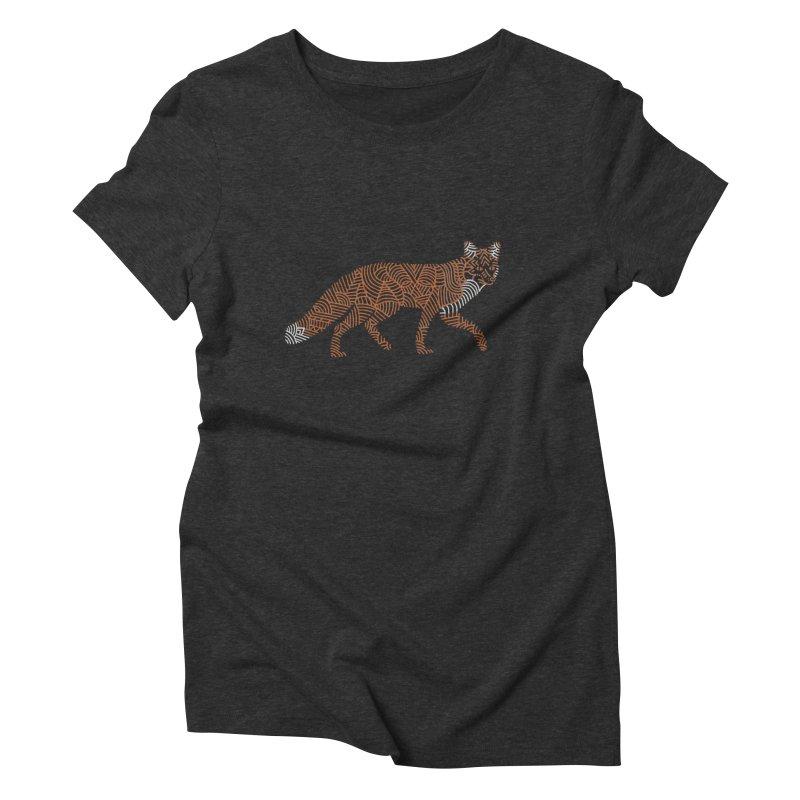 Fox Women's Triblend T-Shirt by Frasq