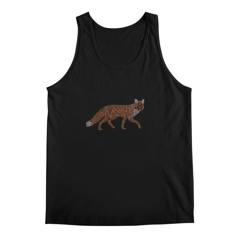 Fox Men's Tank by Frasq