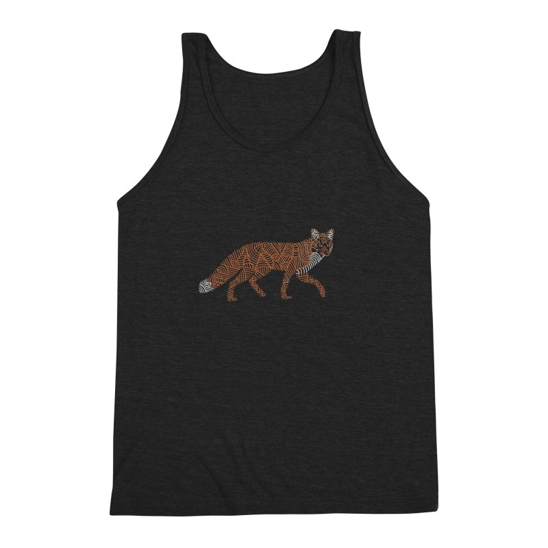 Fox Men's Triblend Tank by Frasq