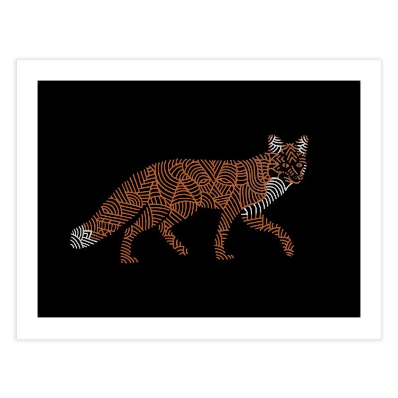 Fox Home Fine Art Print by Frasq
