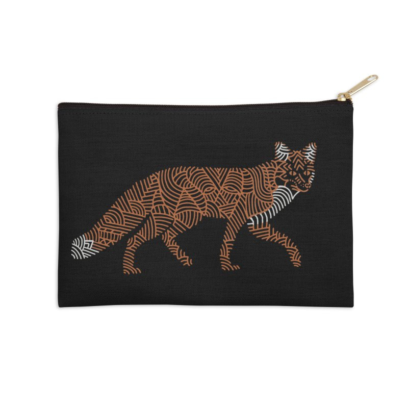 Fox Accessories Zip Pouch by Frasq