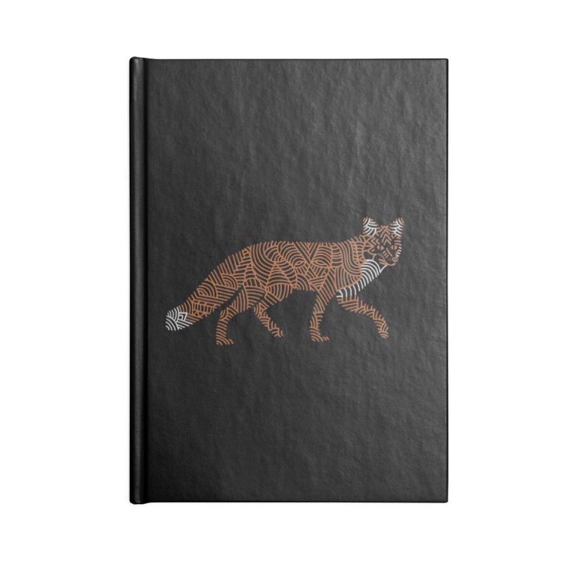 Fox Accessories Notebook by Frasq