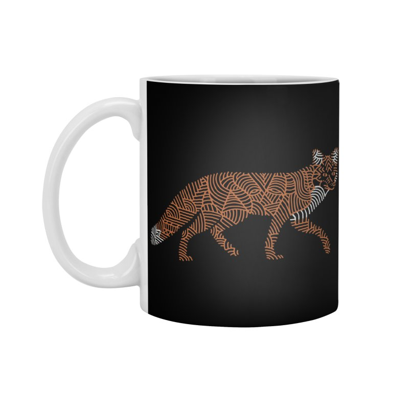 Fox Accessories Standard Mug by Frasq