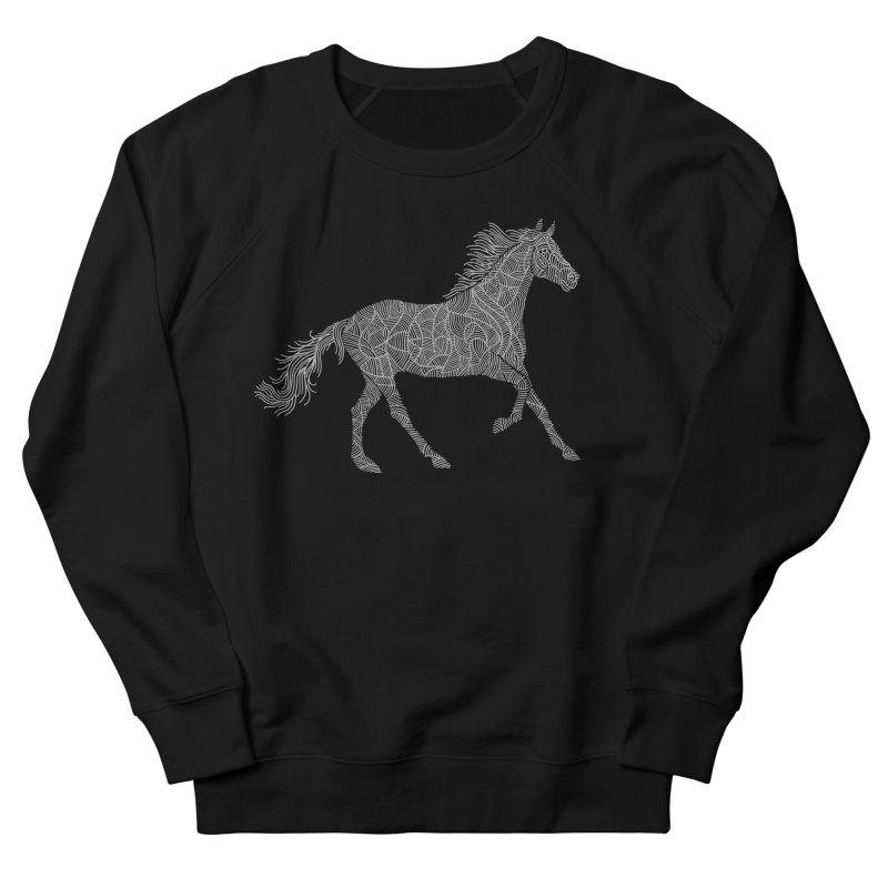 Silver Men's Sweatshirt by Frasq