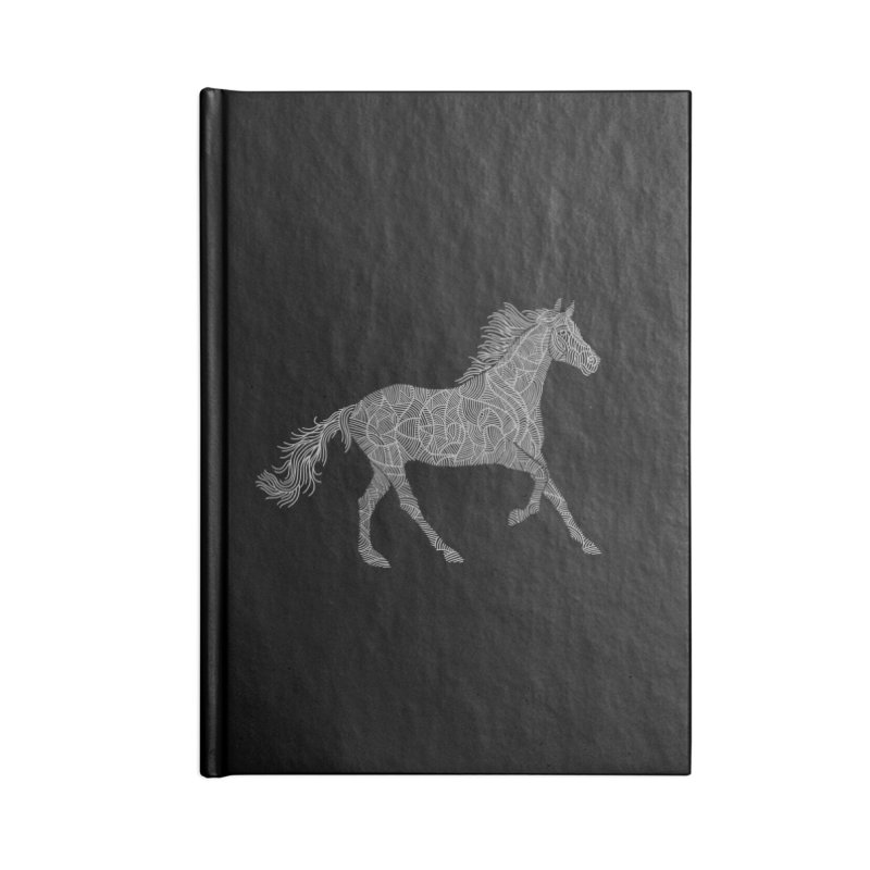 Silver Accessories Notebook by Frasq