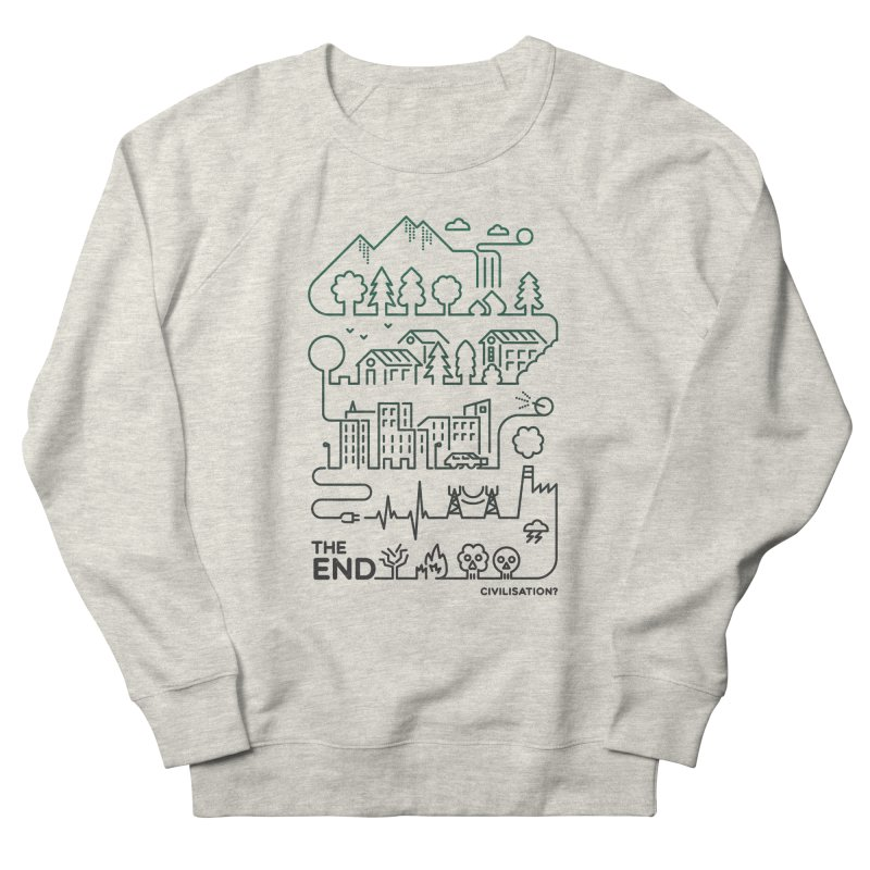 Civilization? Women's Sweatshirt by Frasq