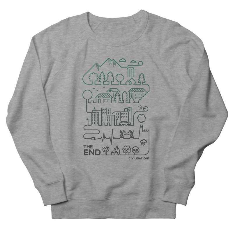 Civilization? Men's Sweatshirt by Frasq