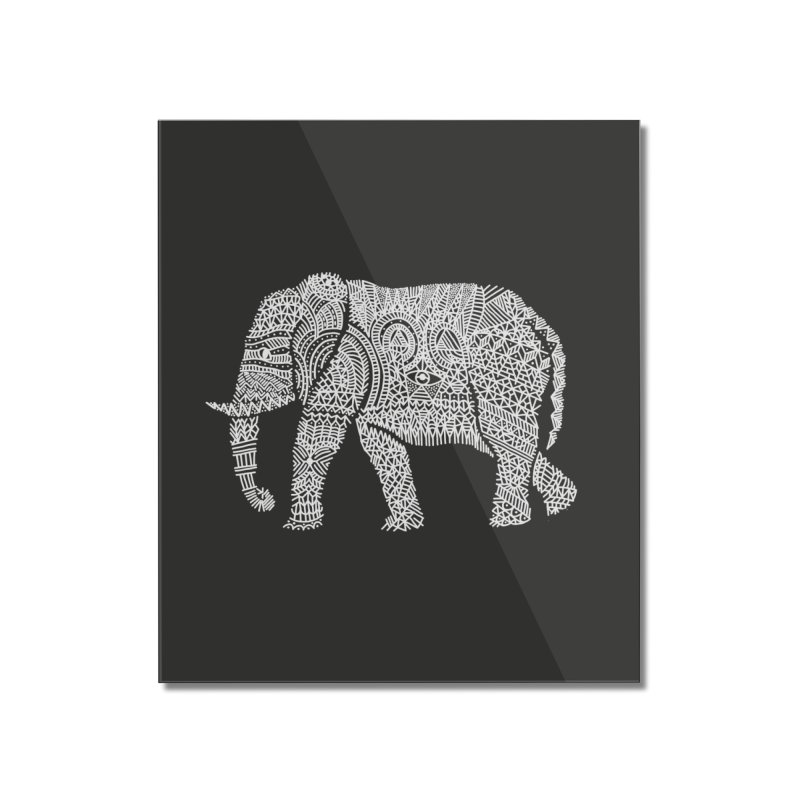 Linephant Home Mounted Acrylic Print by Frasq