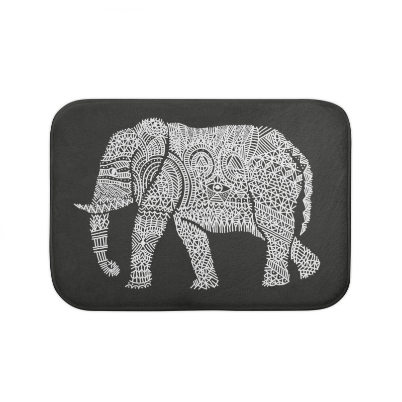 Linephant Home Bath Mat by Frasq