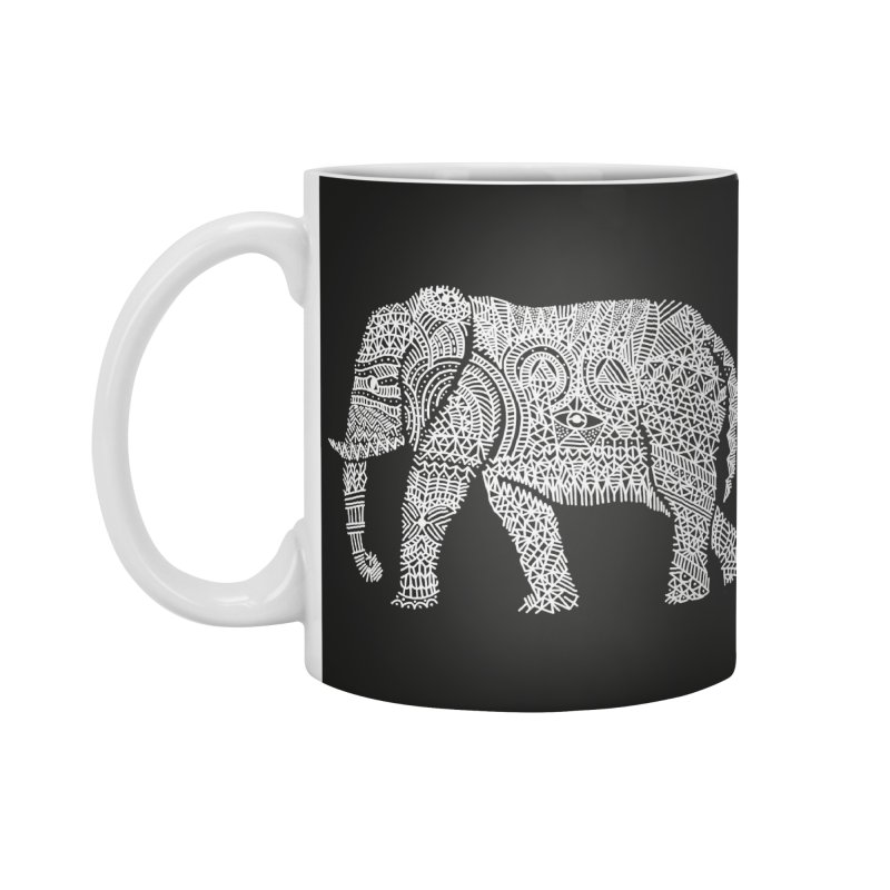 Linephant Accessories Standard Mug by Frasq
