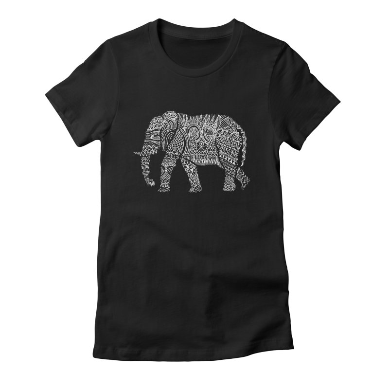 Linephant Women's Fitted T-Shirt by Frasq