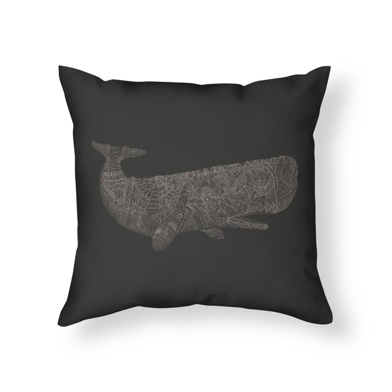 Whaline Home Throw Pillow by Frasq