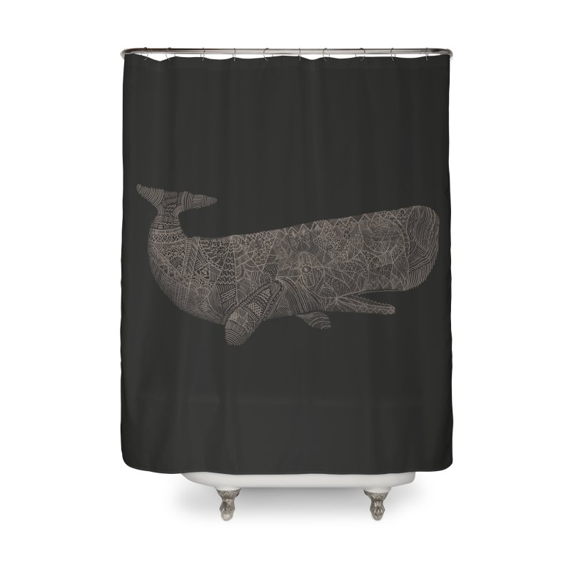 Whaline Home Shower Curtain by Frasq