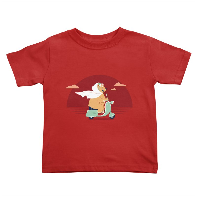 Ciao-Ciao Kids Toddler T-Shirt by frauewert's Artist Shop