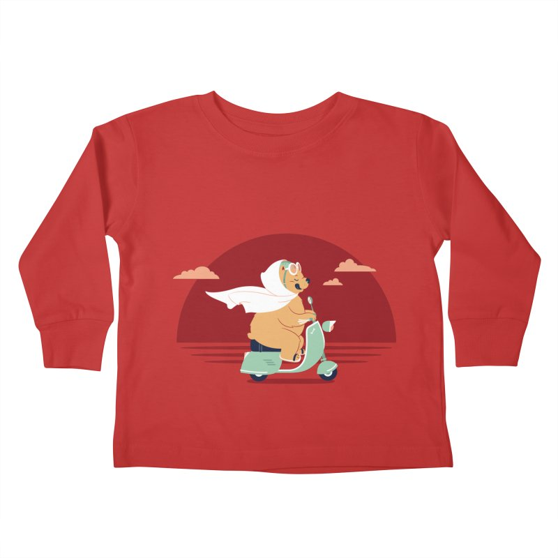 Ciao-Ciao Kids Toddler Longsleeve T-Shirt by frauewert's Artist Shop