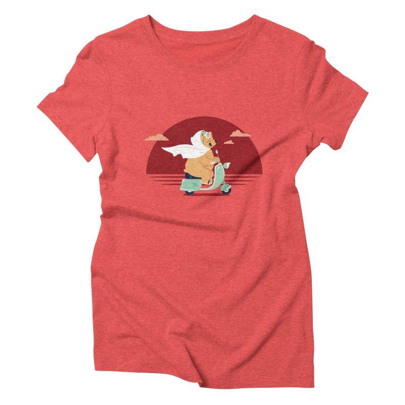 Ciao-Ciao Women's Triblend T-Shirt by frauewert's Artist Shop