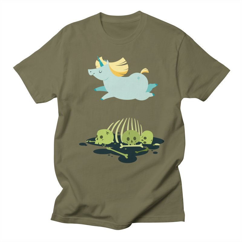 Chubbycorn Men's T-Shirt by frauewert's Artist Shop