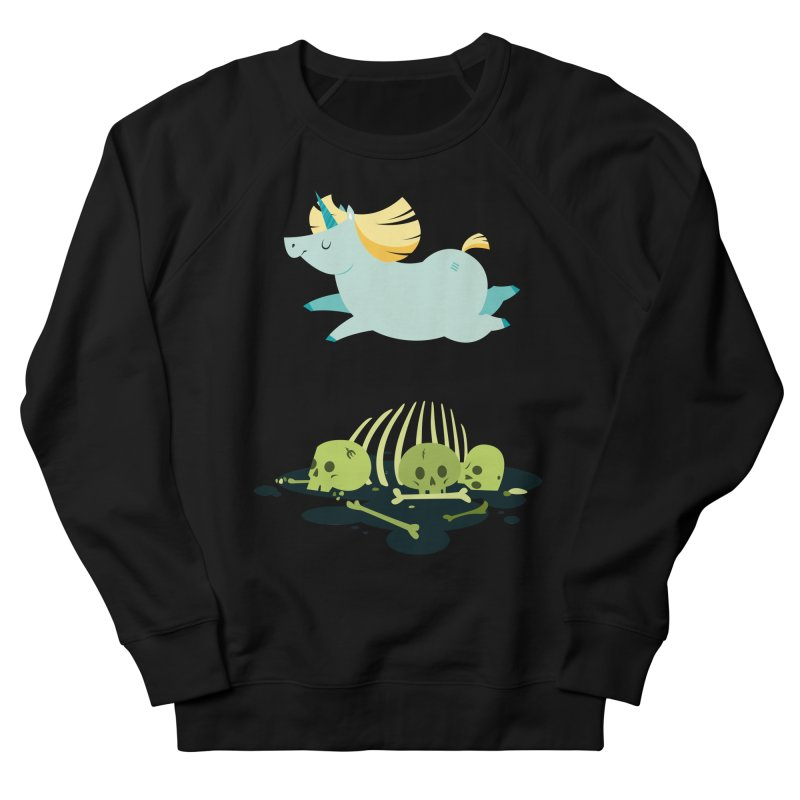 Chubbycorn Men's French Terry Sweatshirt by frauewert's Artist Shop