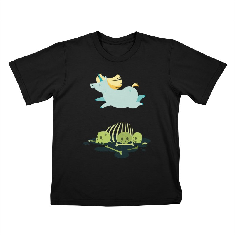 Chubbycorn Kids T-Shirt by frauewert's Artist Shop