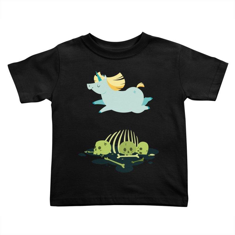 Chubbycorn Kids Toddler T-Shirt by frauewert's Artist Shop