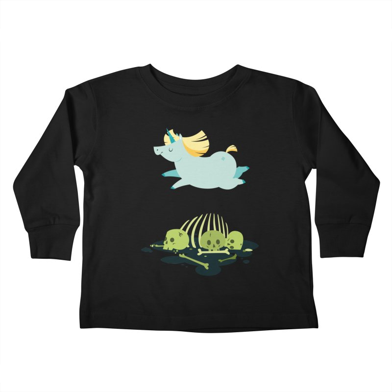 Chubbycorn Kids Toddler Longsleeve T-Shirt by frauewert's Artist Shop