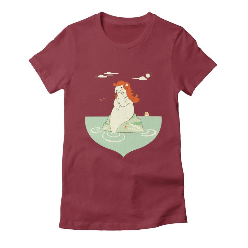 Hello, sailor! Women's Fitted T-Shirt by frauewert's Artist Shop