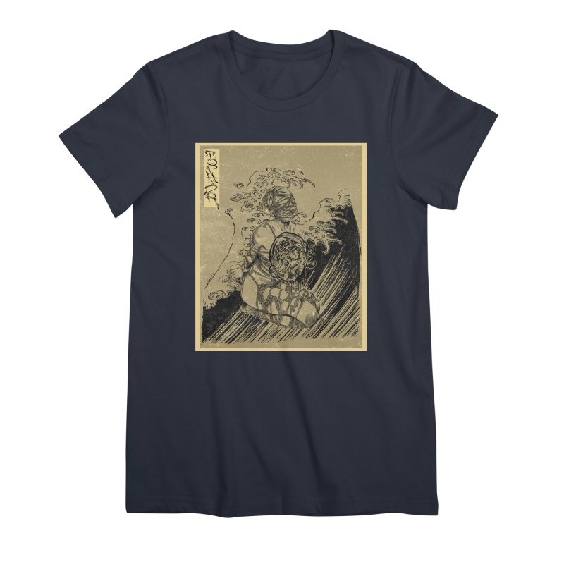 topher edo period kinbaku Women's Premium T-Shirt by FredRx's Artist Shop